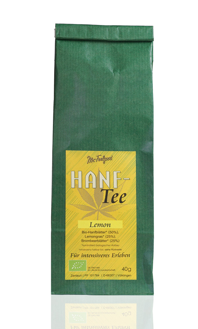 Hanf-Tee Lemon